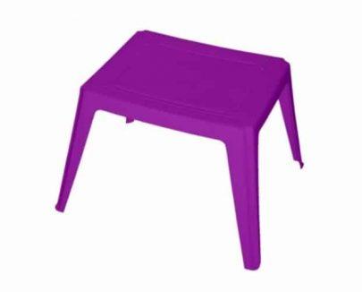 DAJAR - Stolik plastikowy AS - fioletowy-0