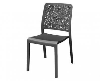 CURVER - Krzesło ogrodowe - Charlotte City - Grafit-0