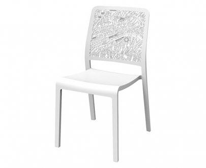 CURVER - Krzesło ogrodowe - Charlotte City - Białe-0