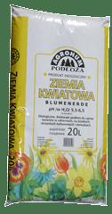 KARASKA - Ziemia kwiatowa pH5,5-6,5 - 20l-0
