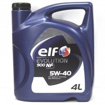 ELF Evolution 900 NF 5W-40 - 4L-0