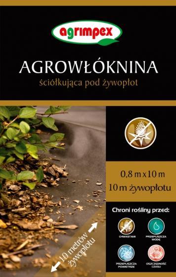 AGRIMPEX - AGROWŁÓKNINA POD ŻYWOPŁOT - 1,6X20M BRĄZOWA-0
