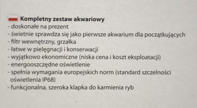 AQUA - ZESTAW AKWARIOWY 4 START - 60cm-18395