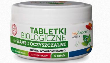 BIOEXPERT - TABLETKI BIOLOGICZNE DO SZAMBA I OCZYSZCZALNI - 6 SZT-0