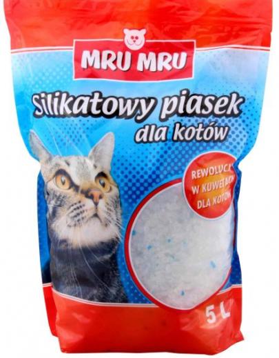 PIASEK ŻWIREK DLA KOTA SILIKATOWY - 5L-0