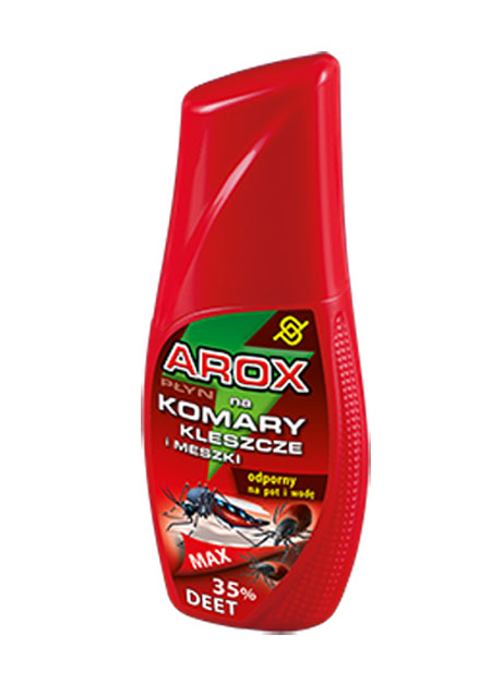 AGRECOL - AROX MAX DEET - PŁYN NA KOMARY I KLESZCZE - 100ml-0