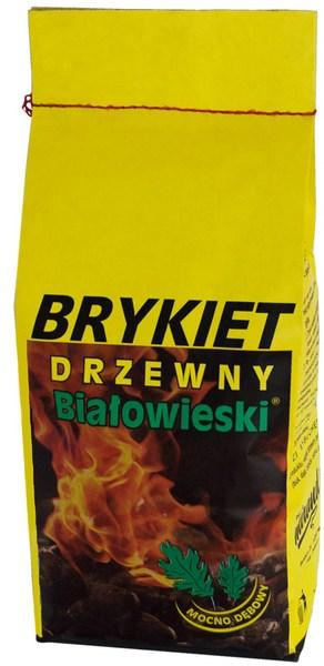 BRYKIET DRZEWNY BIAŁOWIESKI - 2KG-0