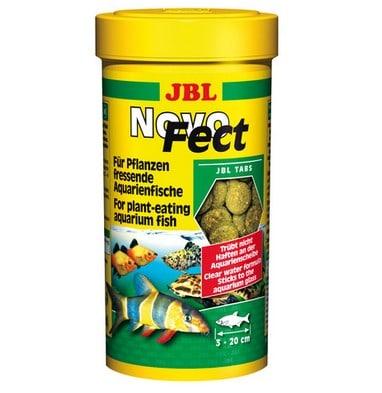 JBL - POKARM DLA RYBEK - NOVOFECT 400 TABLETEK - 250ML -0