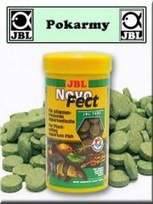 JBL - POKARM DLA RYBEK - NOVOFECT 400 TABLETEK - 250ML -20436