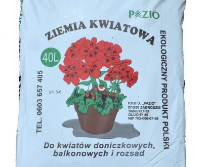 PAZIO - ZIEMIA KWIATOWA - 40L-0