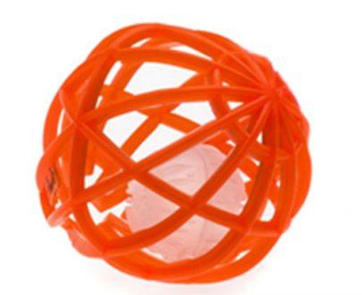COMFY - ZABAWKA DLA KOTA - SOFT BALL - POMARAŃCZOWA - 7cm -0