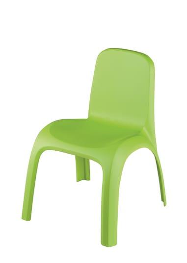 Keter Krzesło Plastikowe Dla Dzieci Kids Chair Jasny Zielony