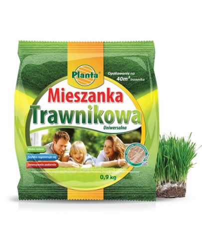 PLANTA - MIESZANKA TRAWNIKOWA - TRAWA UNIWERSALNA - 0,9kg-0