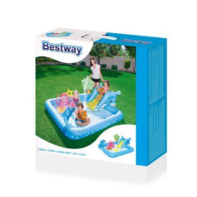 BESTWAY - BASEN NADMUCHIWANY DLA DZIECI - 239x206x86cm -21120
