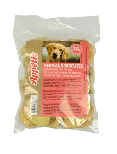 COMFY - CIASTKA DLA PSA - ANIMALS BISCUITS - 150g-0