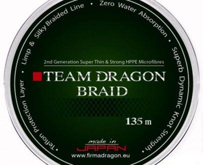 DRAGON - PLECIONKA - TEAM DRAGON BRAID - 0,10mm/135m 7,9kg GREEN -0