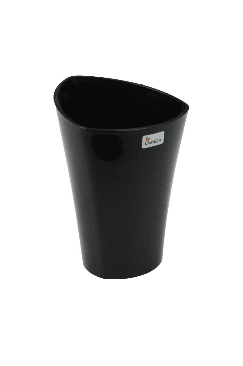 Doniczka Plastikowa Czarna Wenus