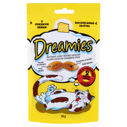DREAMIES - KARMA DLA KOTA - SER - 60G-0