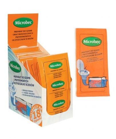BROS - MICROBEC - PREPARAT DO SZAMBA - EUKALIPTUS - 25g-0