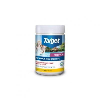 TARGET - TRIOCHLOR - TABLETKI DEZYNFEKUJĄCE WODĘ W BASENIE - 1kg-0