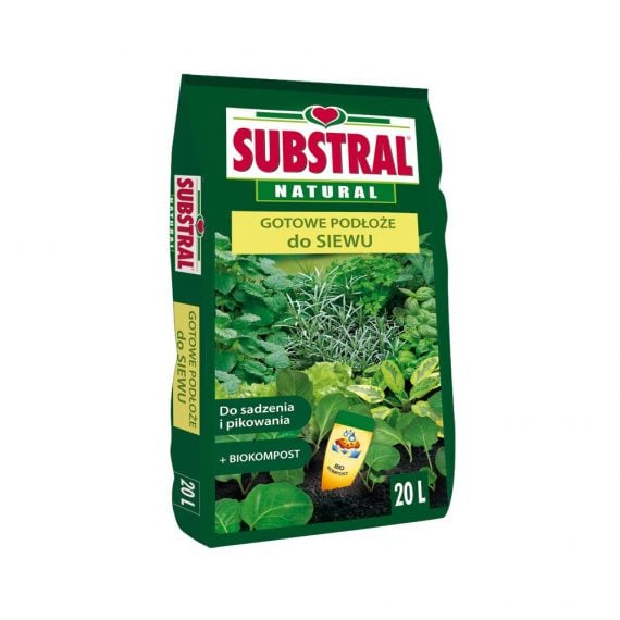 SUBSTRAL - ZIEMIA DO WYSIEWU - 20L-0