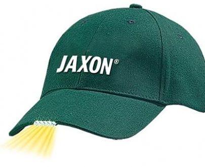 JAXON - CZAPKA Z LATARKĄ W DASZKU - ZIELONA-0
