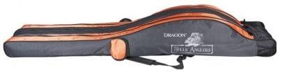 DRAGON - POKROWIEC 3-KOMOROWY - HELLS ANGLERS - 130CM -0