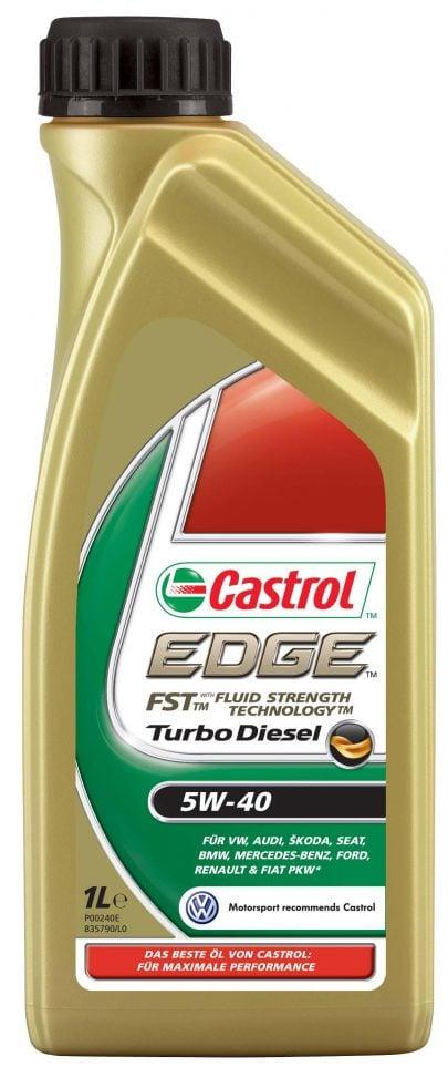 CASTROL - OLEJ SILNIKOWY - EDGE TURBO DIESEL 5W40 - 1L-0