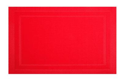AMBITION - MATA STOŁOWA CZERWONA - 30X45CM -0