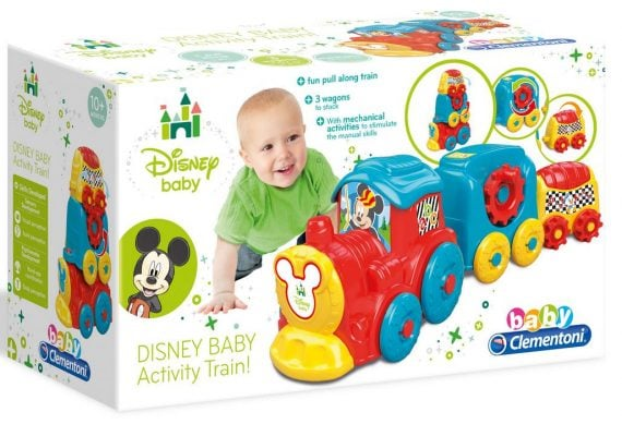 CLEMENTONI - POCIĄG DISNEY BABY ACTIVITY BABY-0