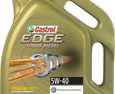 CASTROL EDGE TURBO DIESEL 5W-40 - 5L-0