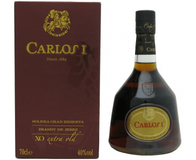 BRANDY - CARLOS XO EXTRA OLD - 0,7L-0