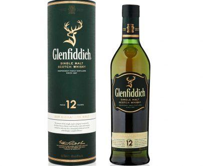 WHISKY - GLENFIDDICH 12-YARS - 0,7L-0