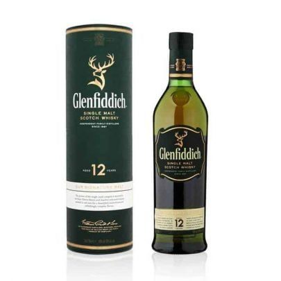 WHISKY - GLENFIDDICH 12-YARS - 0,7L-0