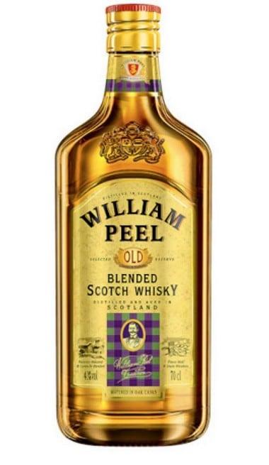 SCOTCH WHISKY - WILLIAM PEEL 0,7L -0