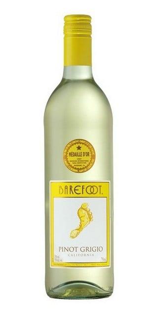 WINO BAREFOOT PINOT GRIGIO - 0,75L-0