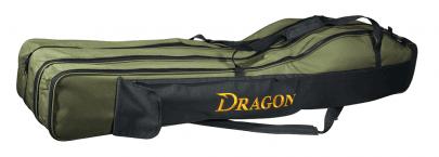 DRAGON - POKROWIEC TRÓJKOMOROWY ROD CASE - 155CM -0