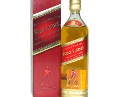 WHISKY - JOHNNIE WALKER RED LABEL - 0,7L-0
