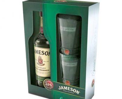 WHISKY - JAMESON + 2 SZKLANKI - 0,7L-0
