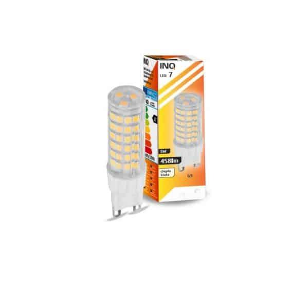 INQ - LAMPA LED 7 - 5W G9-0