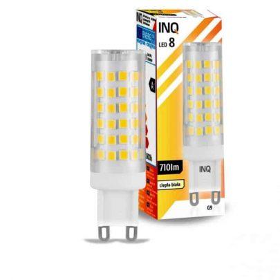 INQ - LAMPA LED 8 - 8W G9 -0